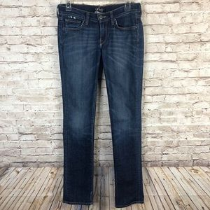 Lucky Brand Southport Zoe Straight Blue Jeans